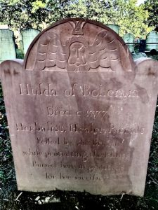 hulda the witch tombstone